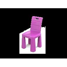 Inlea4Fun EMMA Umelohmotná stolička - ružová Preview