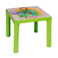 Umelohmotný stolík Inlea4Fun - zelený
