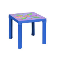 Umelohmotný stolík Inlea4Fun - Modrý