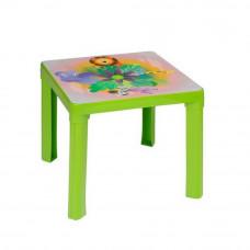 Inlea4Fun umelohmotný stolík pre deti s motívom - zelený Preview