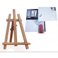 Inlea4Fun S60-3 Maliarsky stojan stolový sada - hnedý