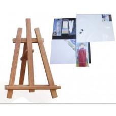 Maliarsky stojan stolový sada Inlea4Fun S60-3 - hnedý Preview