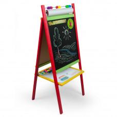 Inlea4Fun detská magnetická tabuľa CREATIVE Preview
