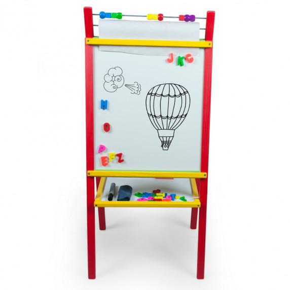Inlea4Fun detská magnetická tabuľa CREATIVE
