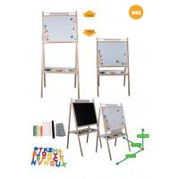 Inlea4Fun detská otočná tabuľa MS3