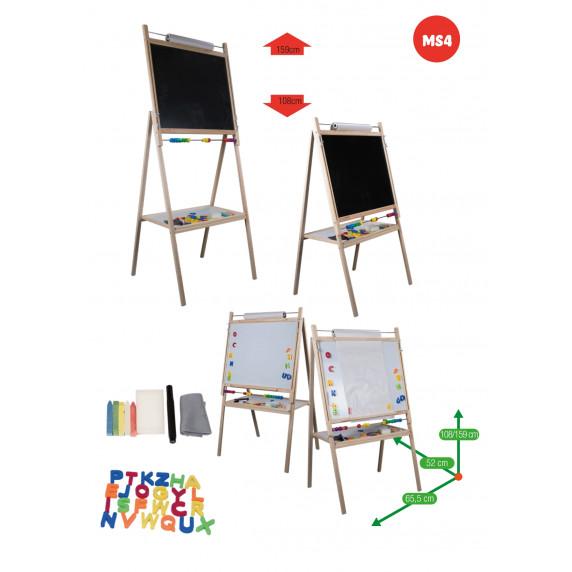 Detská otočná tabuľa Inlea4Fun MS4