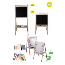 Inlea4Fun detská otočná tabuľa MS5 Preview