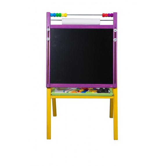 Inlea4Fun detská otočná tabuľa MS7