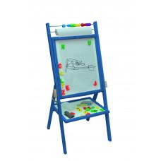 Inlea4Fun detská obojstranná tabuľa -modrá Preview