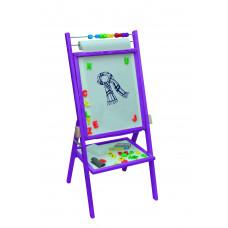 Inlea4Fun detská obojstranná tabuľa - fialová Preview