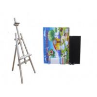 Maliarsky stojan sada 160 cm Inlea4Fun S160-1 - naturálny
