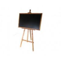 Kresliaca tabuľa so stojanom jednostranná 180 cm Inlea4Fun - hnedá