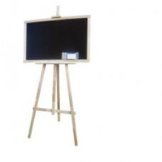 Kresliaca tabuľa so stojanom jednostranná 160 cm Inlea4Fun - naturálna Preview