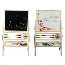 Inlea4Fun detská obojstranná tabuľa MAX  Preview