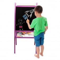 Inlea4Fun detská obojstranná tabuľa TEDDY MOP - Fiaľová Preview