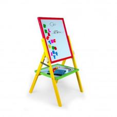 Inlea4Fun detská otočná tabuľa RAINBOW Preview