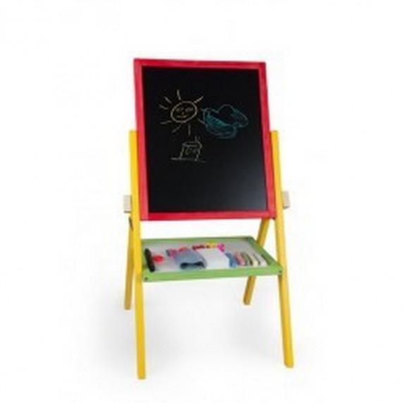 Detská otočná tabuľa Inlea4Fun RAINBOW