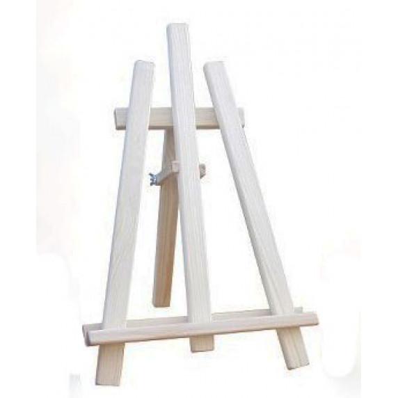 Maliarsky stojan stolový sada 60 cm Inlea4Fun - naturálny