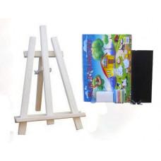 Inlea4Fun Maliarsky stojan stolový sada 60 cm - naturálny Preview