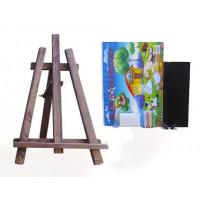 Maliarsky stojan stolový sada 60 cm Inlea4Fun - tmavohnedý