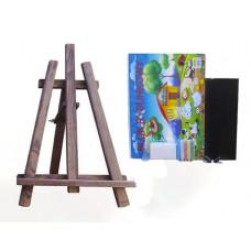 Inlea4Fun Maliarsky stojan stolový sada 60 cm - tmavohnedý Preview