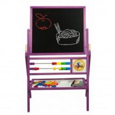Inlea4Fun detská obojstranná tabuľa MAX fialová  Preview