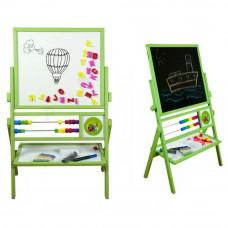 Inlea4Fun detská obojstranná tabuľa MAX zelená Preview