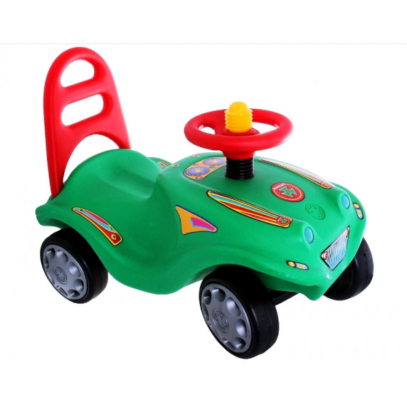 Inlea4Fun Mini Mobile odrážadlo pre deti - Zelená