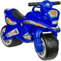 Inlea4Fun NG-X Power odrážadlo v podobe motorky - modrá