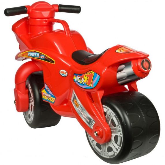 Inlea4Fun NG-X Power odrážadlo v podobe motorky - červená