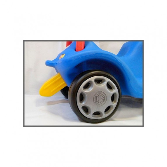 Inlea4Fun Mini Mobile odrážadlo pre deti - Modrá