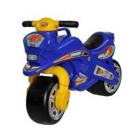 Inlea4Fun odrážadlo v podobe motorky - modrá