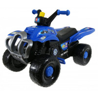 Inlea4Fun Big Quad motorka s pedálmi - Modrá