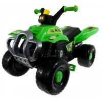 Inlea4Fun Big Quad motorka s pedálmi - Zelená