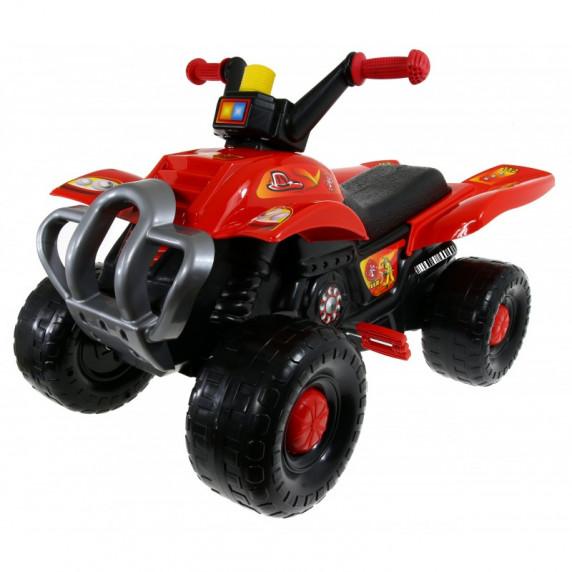 Inlea4Fun Big Quad motorka s pedálmi - Červená