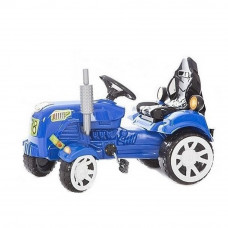 Inlea4Fun Big Farmer traktor s pedálmi - Modrá Preview
