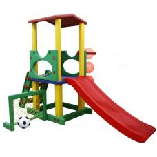 Inlea4Fun detské ihrisko so šmykľavkou a futbalovou bránkou  Preview