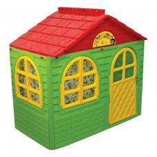 Záhradný domček 69x129x120 cm Inlea4Fun DANUT - Zelený Preview