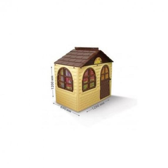 Záhradný domček 69x129x120 cm Inlea4Fun DANUT - béžový