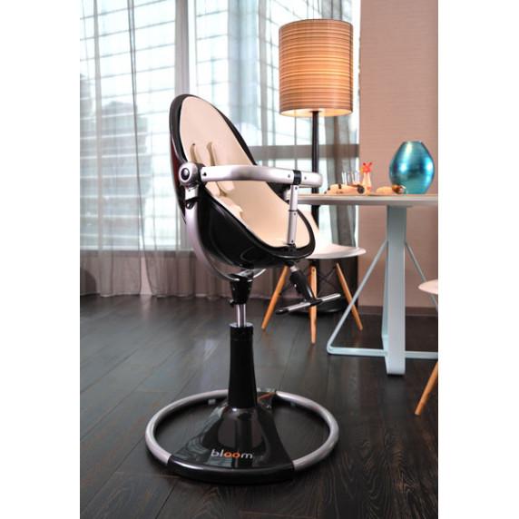 Detská stolička Fresco Chrome™ (WH) - čierna