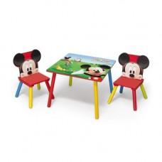 Detský stolík so stoličkami Mickey Mouse II Preview