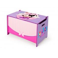 Detská drevená truhla Minnie Mouse Preview