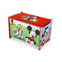 Detská drevená truhla Mickey Mouse