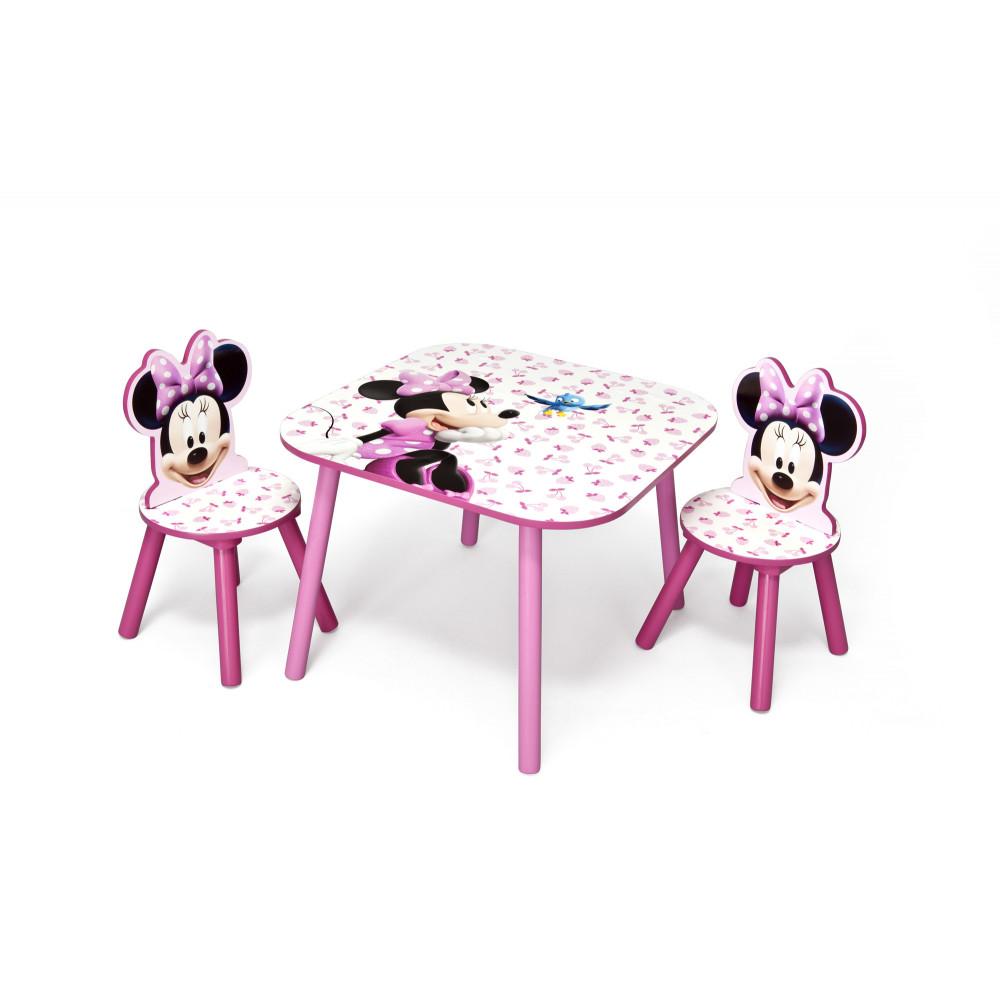 9170ee401918 Detský stolík so stoličkami Minnie III