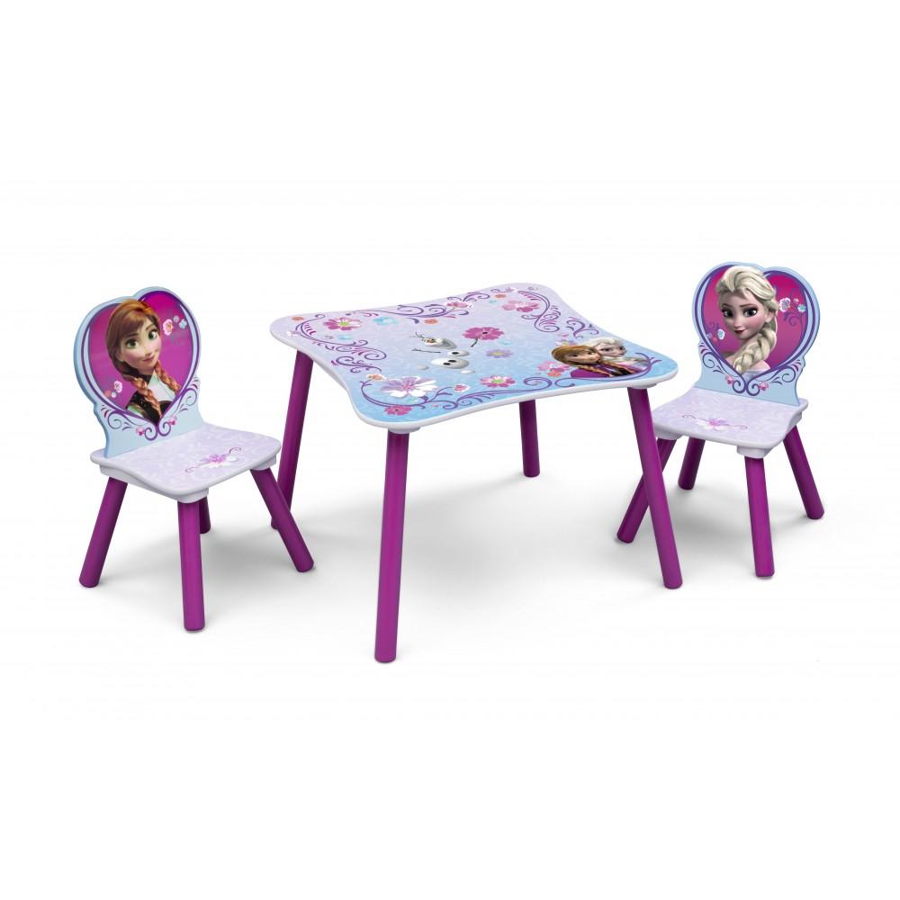 fd3069f58831 Detský stôl so stoličkami Frozen