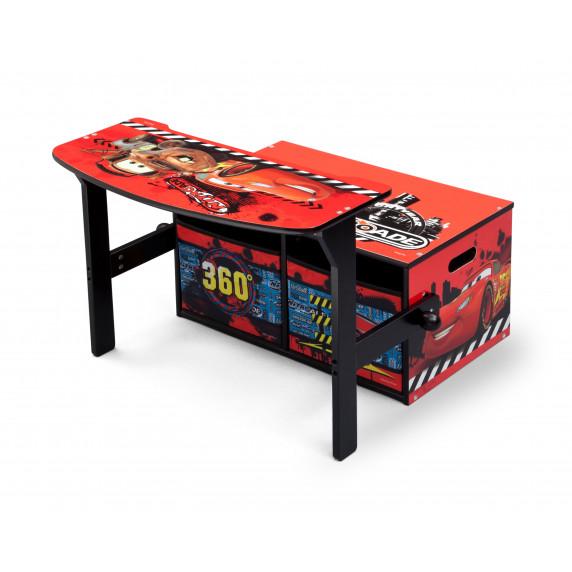 Detská lavica s úložným priestorom Cars