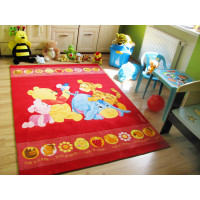 Detský koberec Macko Pu Baby 402 - 160x230 cm