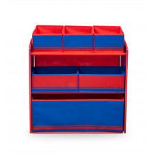 Organizér na hračky modro - červený Preview