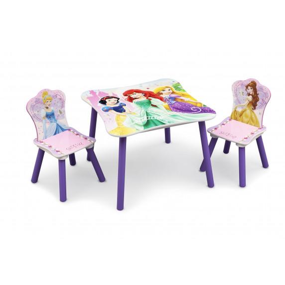 Detský drevený stôl Princess III