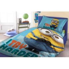Detské posteľné obliečky Mimoni  Preview
